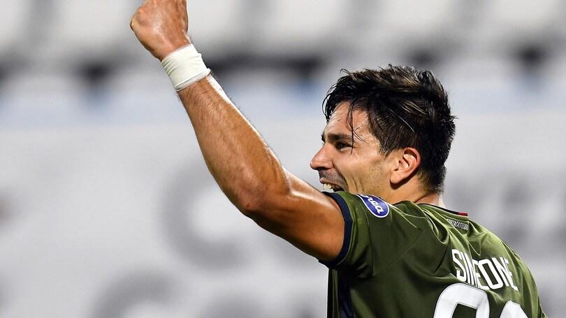 Spal-Cagliari 0-1: Petagna sciupa, Simeone regala il primo successo a Zenga