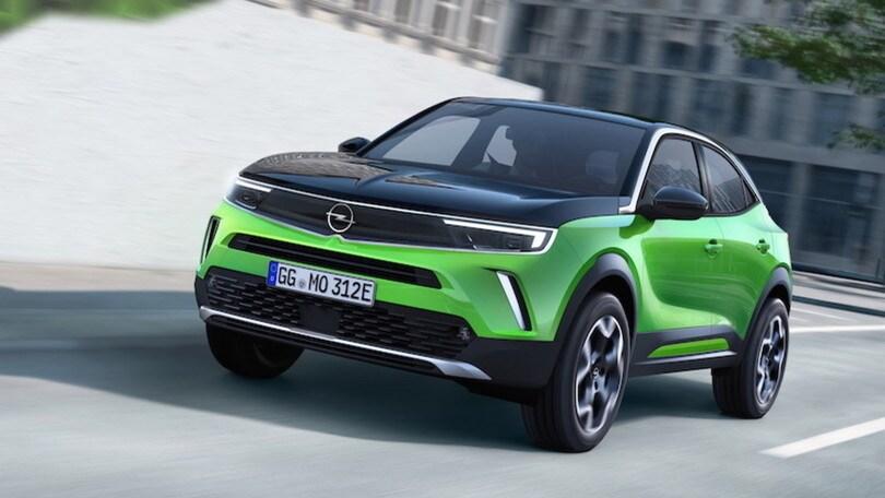 Nuova Opel Mokka, crossover compatta anche elettrica