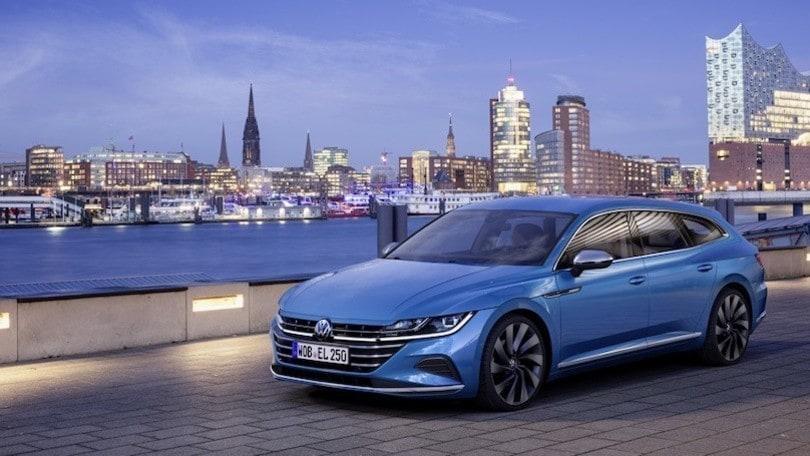 Volkswagen Arteon Shooting Brake, restyling e novità
