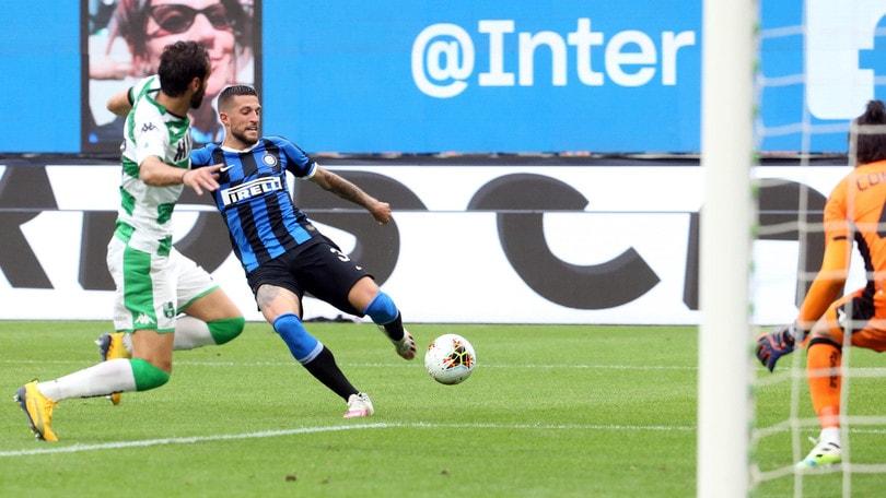 Inter-Sassuolo 3-3, il tabellino