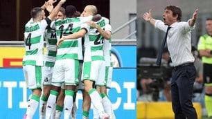Inter, clamoroso 3-3 contro il Sassuolo! Conte a -8 dalla Juve