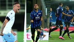 L'urlo di Milinkovic non basta: l'Atalanta ribalta la Lazio 3-2