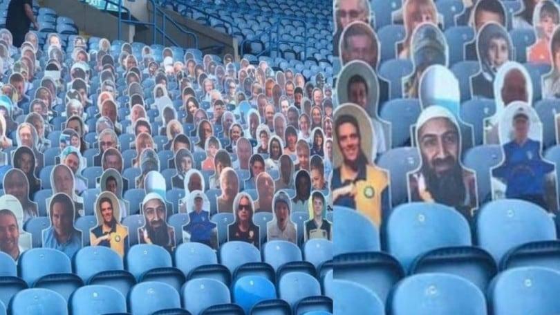 Bin Laden in tribuna: Leeds, che gaffe!