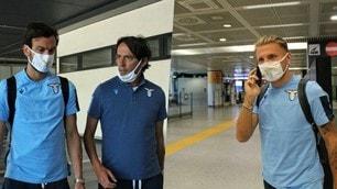 Lazio rientrata da Bergamo: Inzaghi pronto a rilanciare i suoi