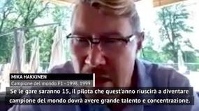 "F1, Hakkinen: ""Occhio a Bottas, Hamilton e Verstappen. Sulla Ferrari..."""