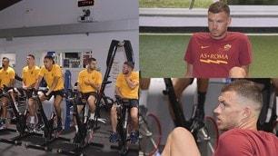 Roma pedalea hacia Milán, Dzeko piensa en el aparato ortopédico de Sampdoria