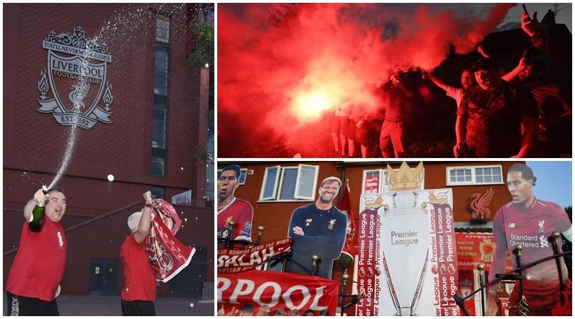 Liverpool, una città in festa per la vittoria della Premier League