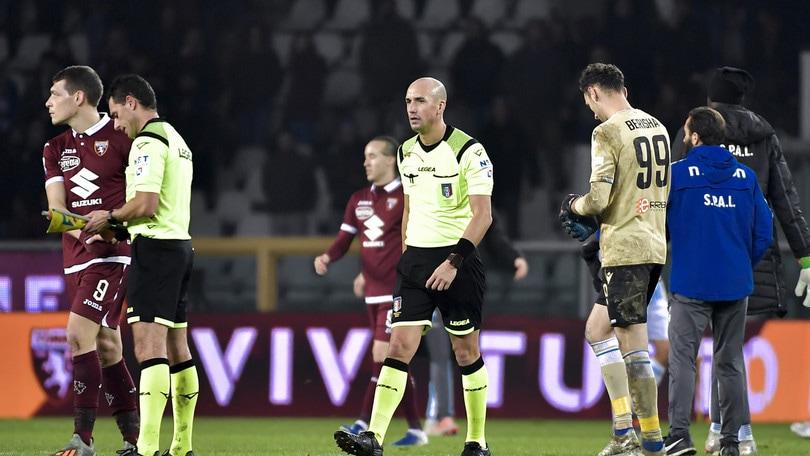 Arbitri di A: Lazio-Fiorentina a Fabbri. Calvarese al VAR