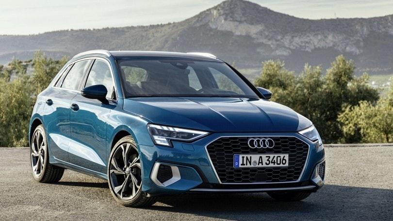 Audi A3 Sportback: sostenibilità con il mild hybrid