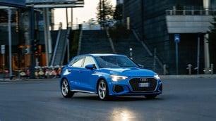 Nuova Audi A3 Sportback, la prova: le immagini