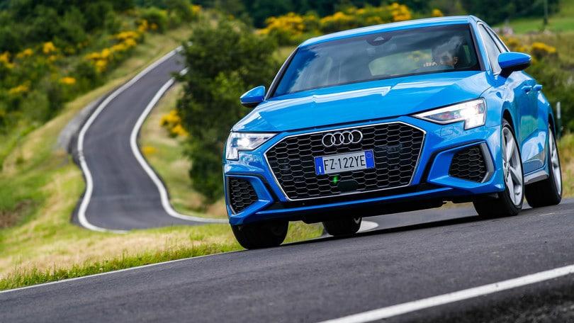 Test Drive Nuova Audi A3 Sportback: aumenta la sportività