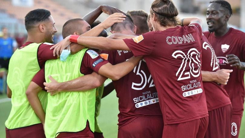 Trapani-Pordenone 3-0: Coulibaly e doppietta di Pettinari