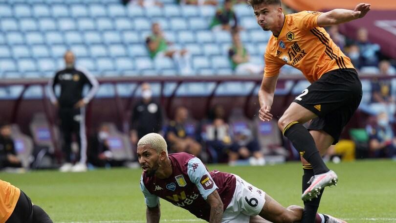 Il Wolverhampton piega l'Aston Villa e sogna l'Europa che conta