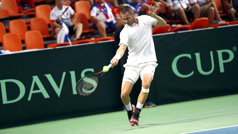 Tennis, Tomislav Brkic positivo al Coronavirus