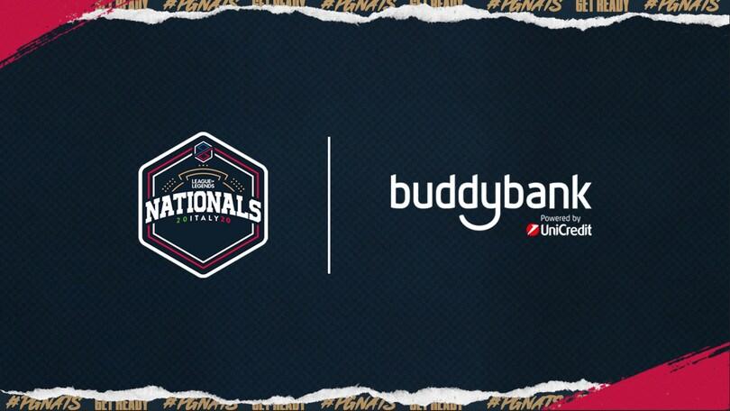 PG Esports: buddybank nuovo sponsor del campionato di LOL