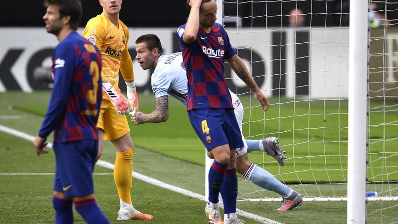 Barcellona, 2-2 col Celta e solo pochi minuti per Arthur