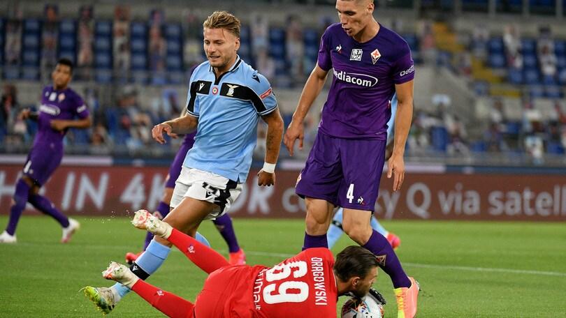 Lazio-Fiorentina 2-1, il tabellino