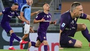 Ribery, serata magica nonostante il ko: che prodezza contro la Lazio!
