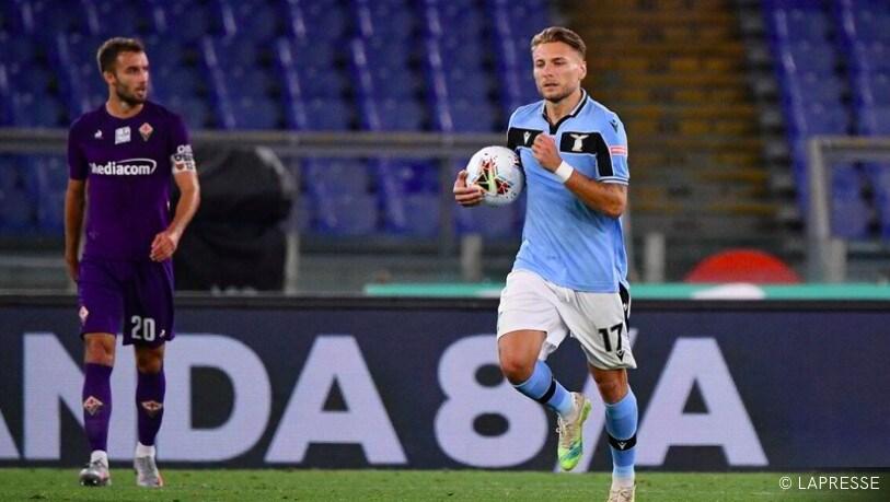 La Lazio rimonta la Viola. Il Cagliari batte il Toro