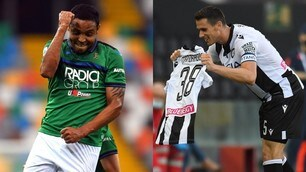 Le doppiette di Lasagna e Muriel danno spettacolo in Udinese-Atalanta