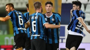 De Vrij e Bastoni, l'Inter di Conte ha i difensori goleador