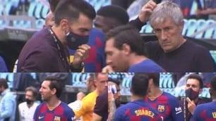 Tensione Messi-Sarabia, l'argentino ignora il vice di Setien