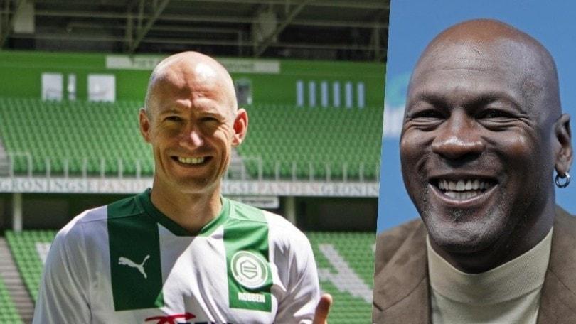 Robben, il suo ritorno al Groningen è merito di The Last Dance