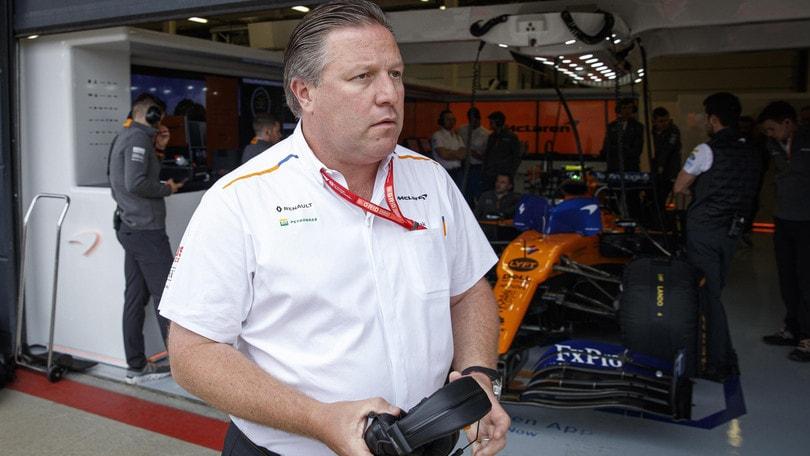 F1, Brown: