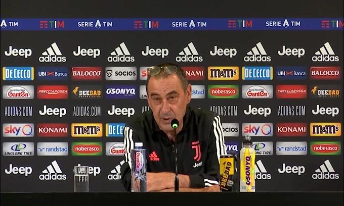 """Sarri: """"Attenzione al Genoa: è una partita complicata"""""""
