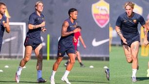 Roma, Zaniolo scalpita: allenamento con la prima squadra