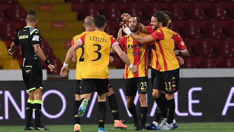 Benevento promosso in Serie A: Sau segna, Inzaghi fa festa con il record