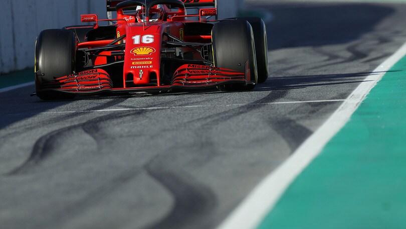 F1 Ferrari, in Austria con la scritta #ForzaAlex