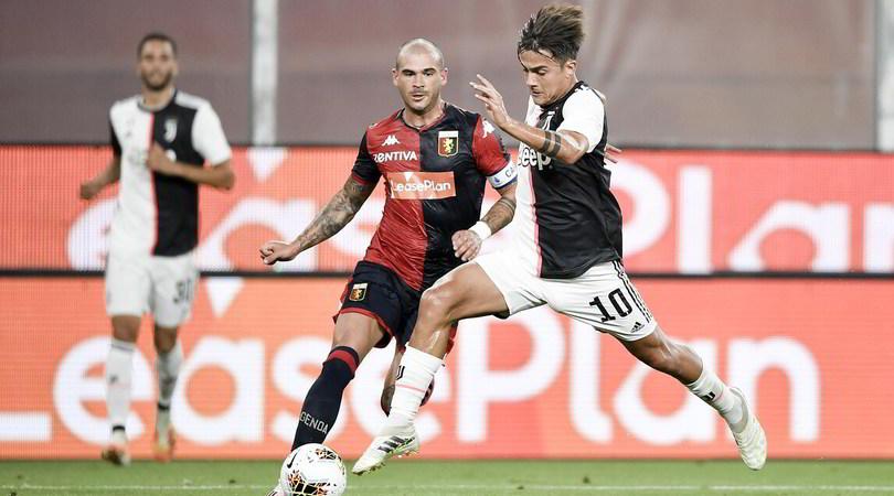 Genoa-Juve 1-3, il tabellino