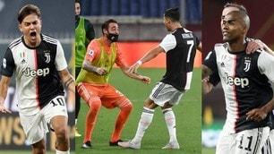 Dybala-Ronaldo-Douglas Costa: la Juve mette ko il Genoa con tre capolavori