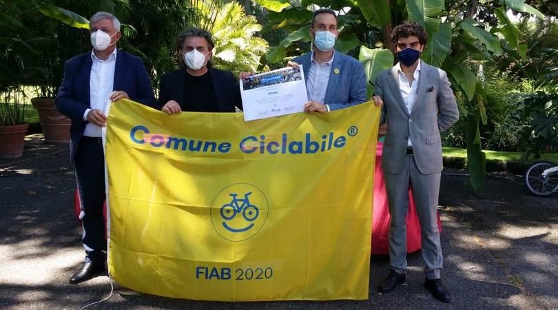 Roma entra nella rete FIAB-ComuniCiclabili