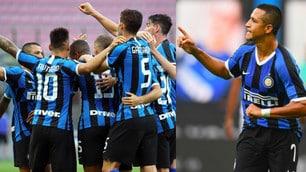 Inter, Sanchez grande protagonista nel 6-0 al Brescia