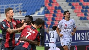 Barrow è scatenato, Simeone una sentenza: 1-1 tra Bologna e Cagliari