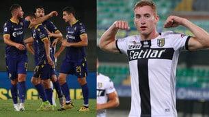 Parma, Kulusevski segna e mostra i muscoli ma vince il Verona 3-2