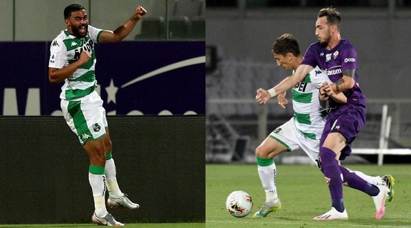 Defrel show, amnesia di Castrovilli: la Fiorentina crolla col Sassuolo