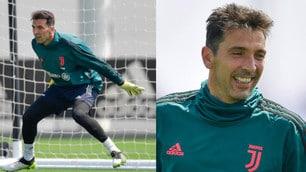 Juve, Buffon si allena duramente: vuole il record di presenze in A
