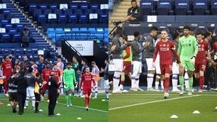 La 'guard of honor' del Manchester City dedicata al Liverpool