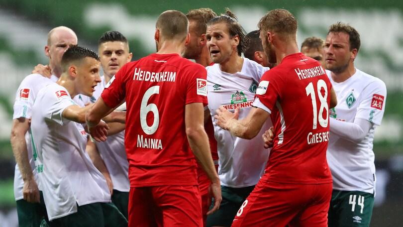 Bundesliga, Werder Brema-Heidenheim finisce 0-0
