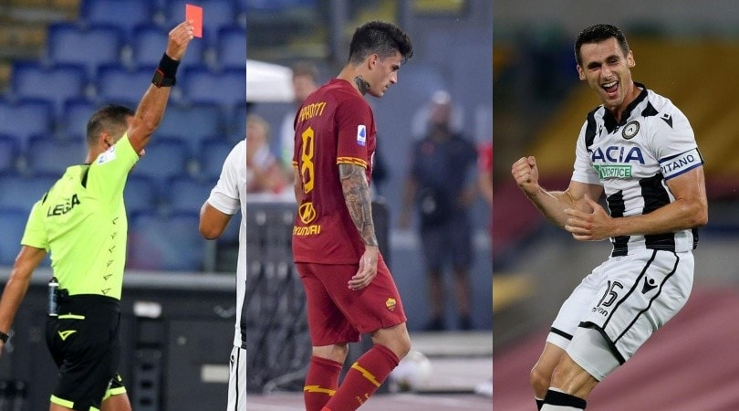 Perotti, che fallo! La Roma perde la testa e la partita
