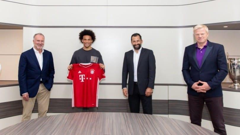 Ufficiale, Sané al Bayern Monaco: le cifre dell'affare