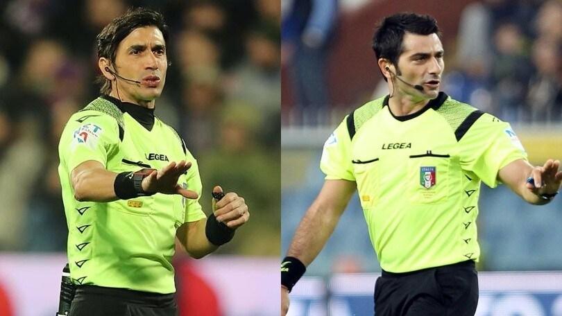 Serie A, gli arbitri: Lazio-Milan a Calvarese. Maresca dirige Juve-Torino