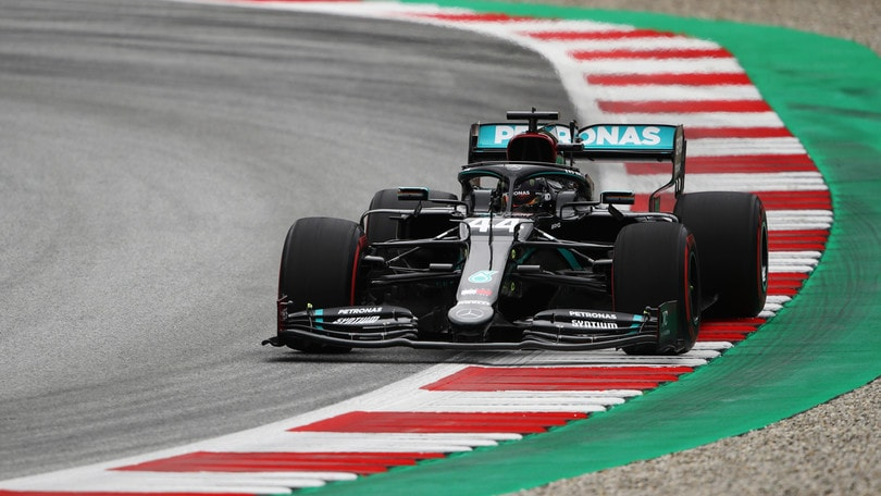 GP Austria, dominio Mercedes nelle seconde libere, Vettel termina quarto
