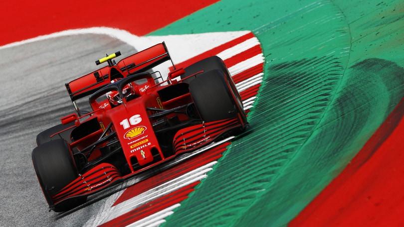 F1, diretta qualifiche Gp Austria ore 15