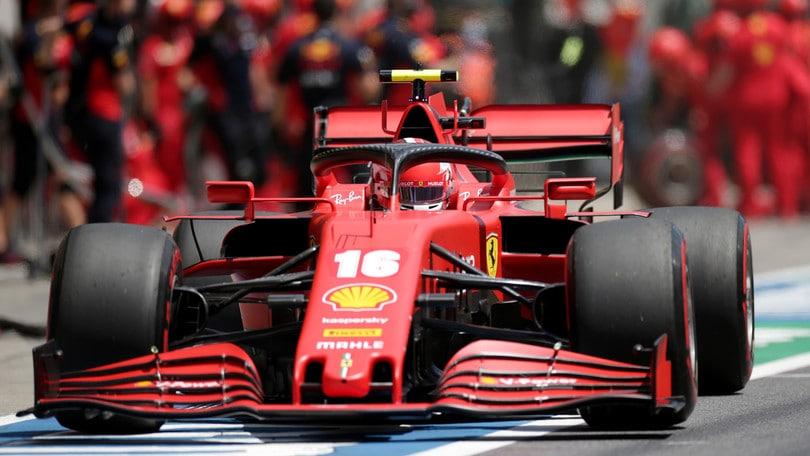 """Ferrari, Leclerc: """"Purtroppo questi sono i risultati, difficile fare miracoli"""""""