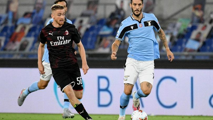 Lazio-Milan 0-3, il tabellino