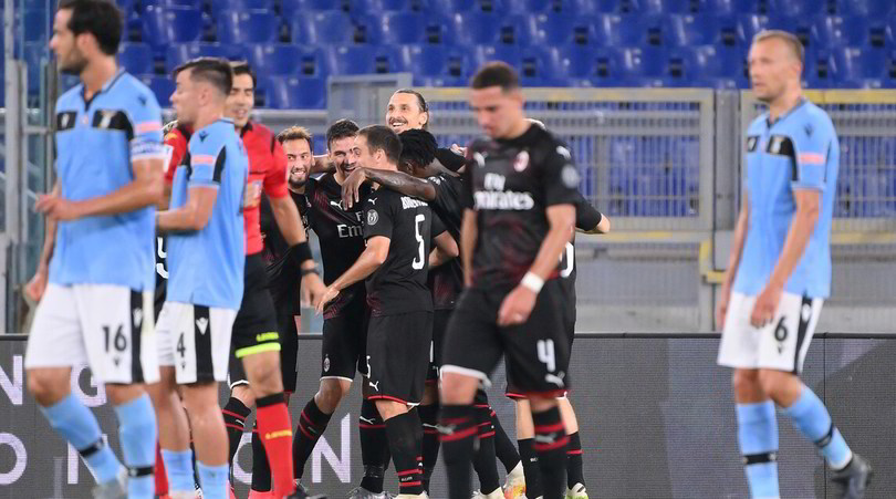 Serie A, Lazio-Milan 0-3: Inzaghi crolla, Juve a +7